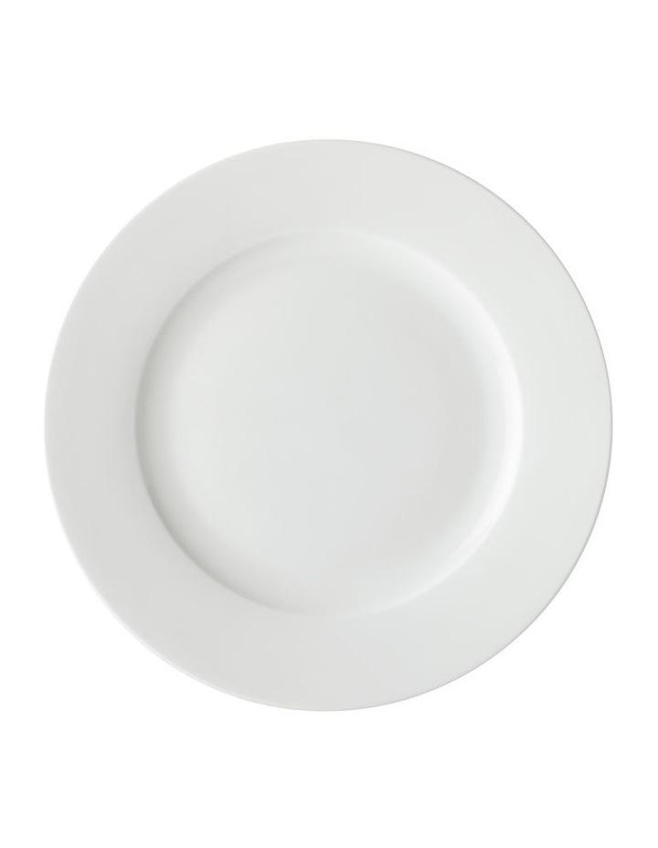 White Basics European Rim Dinner Set 18pc Gift Boxed image 2
