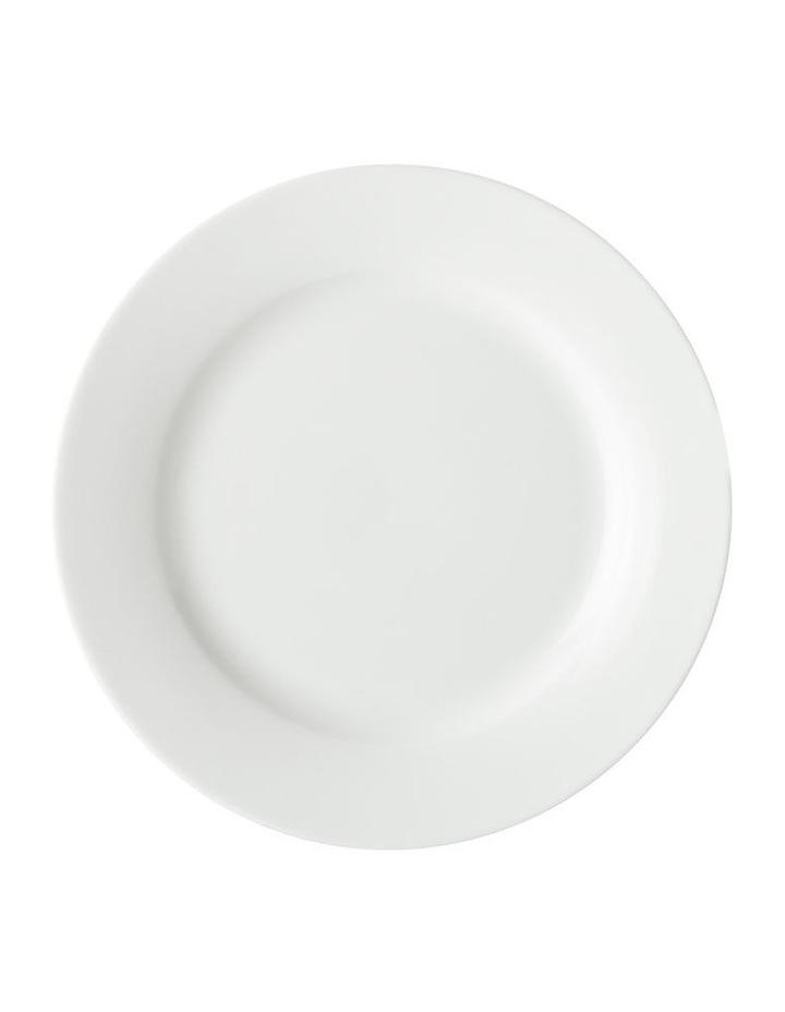 White Basics European Rim Dinner Set 18pc Gift Boxed image 3