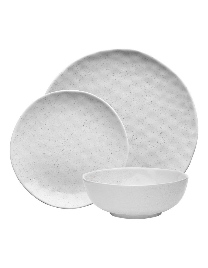 Speckle Milk 12 Piece Dinner Set - Gift Boxed image 1