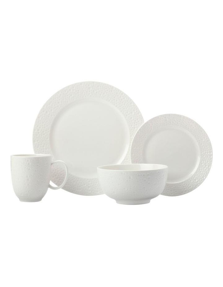 Mantra Rim Dinner Set 16pc White Gift Boxed image 1