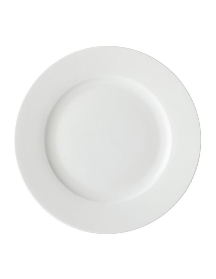 White Basics Cosmopolitan Rim Dinner Set 16pce Gift Boxed image 2