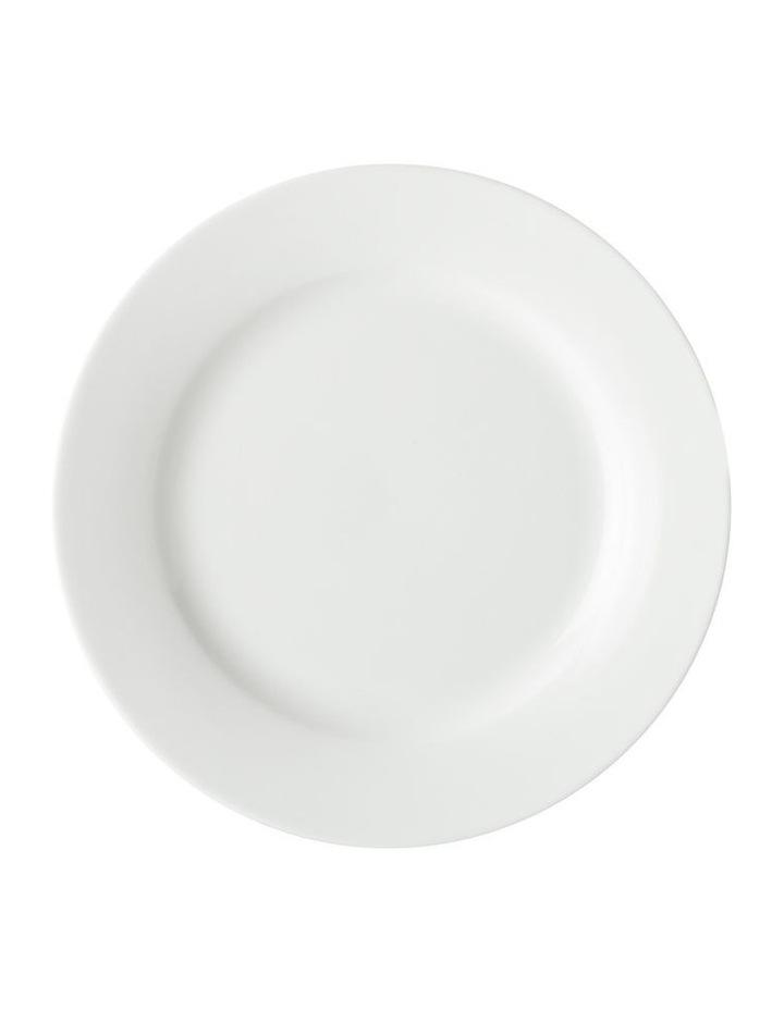 White Basics Cosmopolitan Rim Dinner Set 16pce Gift Boxed image 3