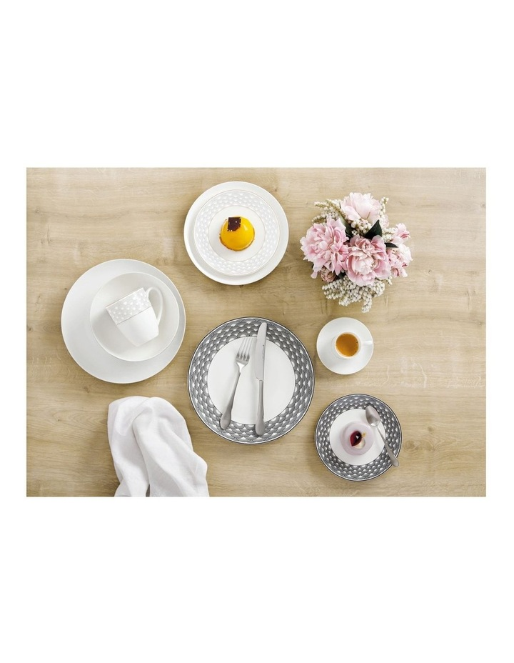Harlequin Coupe Dinner Set 16 Piece Grey Gift Boxed image 2