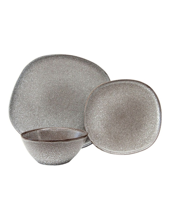 Arch Dinner Set 12pc - Charcoal image 1