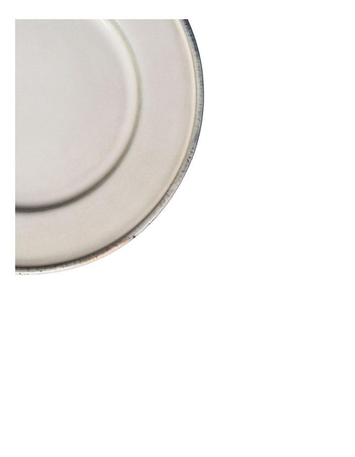 Flat Rim Reactive 12 Piece Dinner Set - Taupe image 4