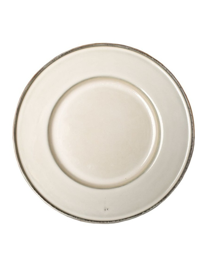Flat Rim Reactive 12 Piece Dinner Set - Taupe image 5