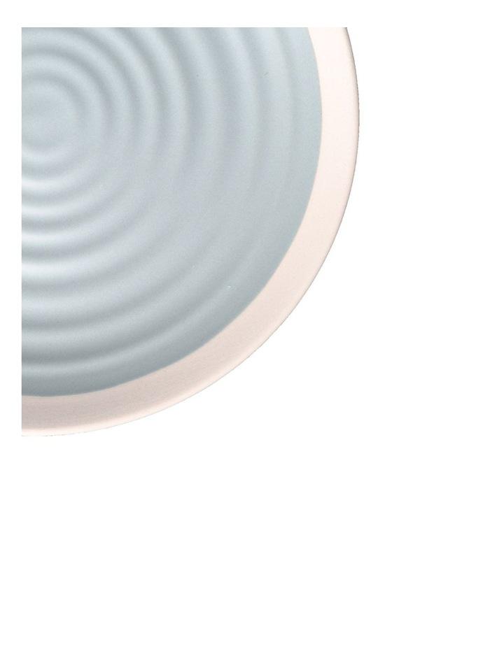 Rippled Circles 12 Piece Dinner Set - Baby Blue image 3