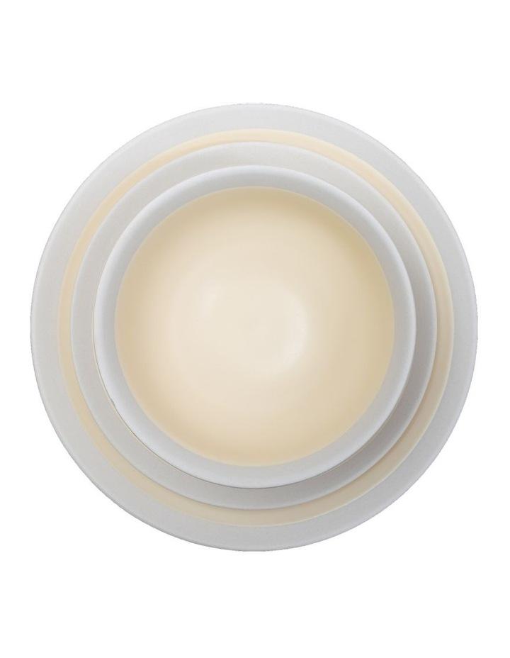 Rippled Circles 12 Piece Dinner Set - Cream image 2