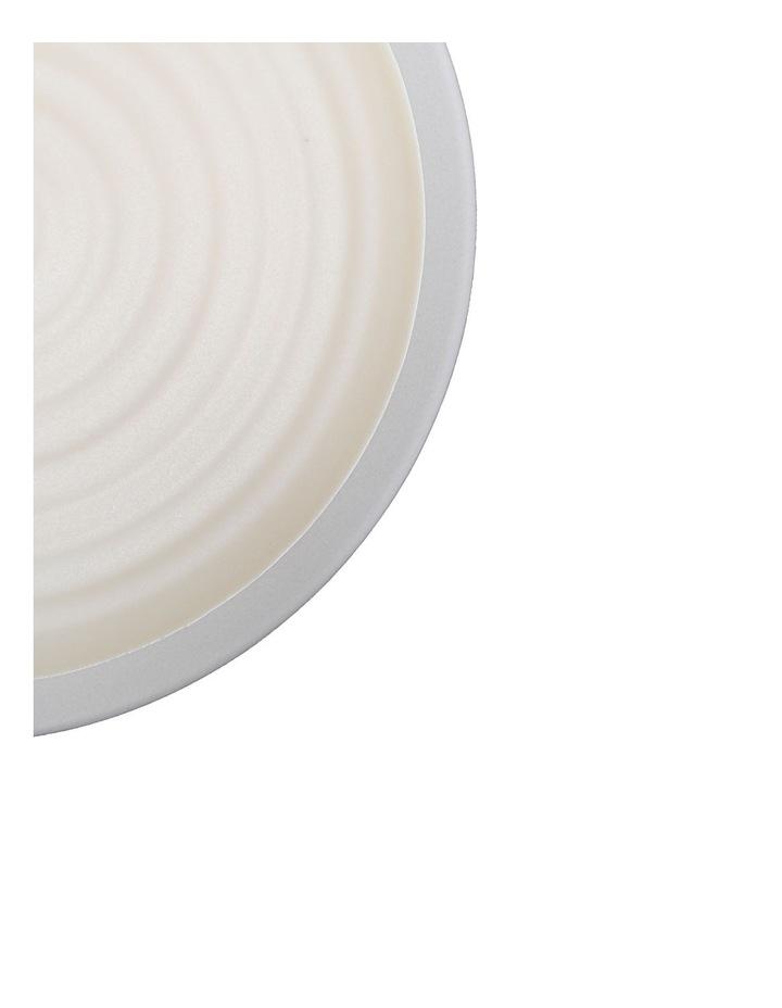 Rippled Circles 12 Piece Dinner Set - Cream image 3
