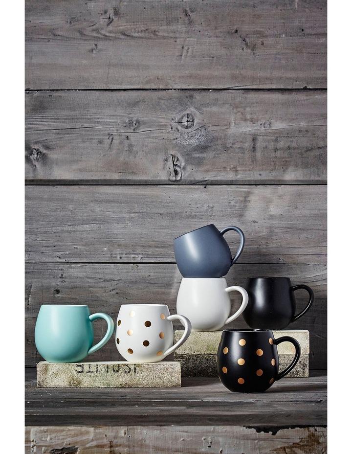 Hug Me Mug  Set of 4 - White & Gold Spot image 2