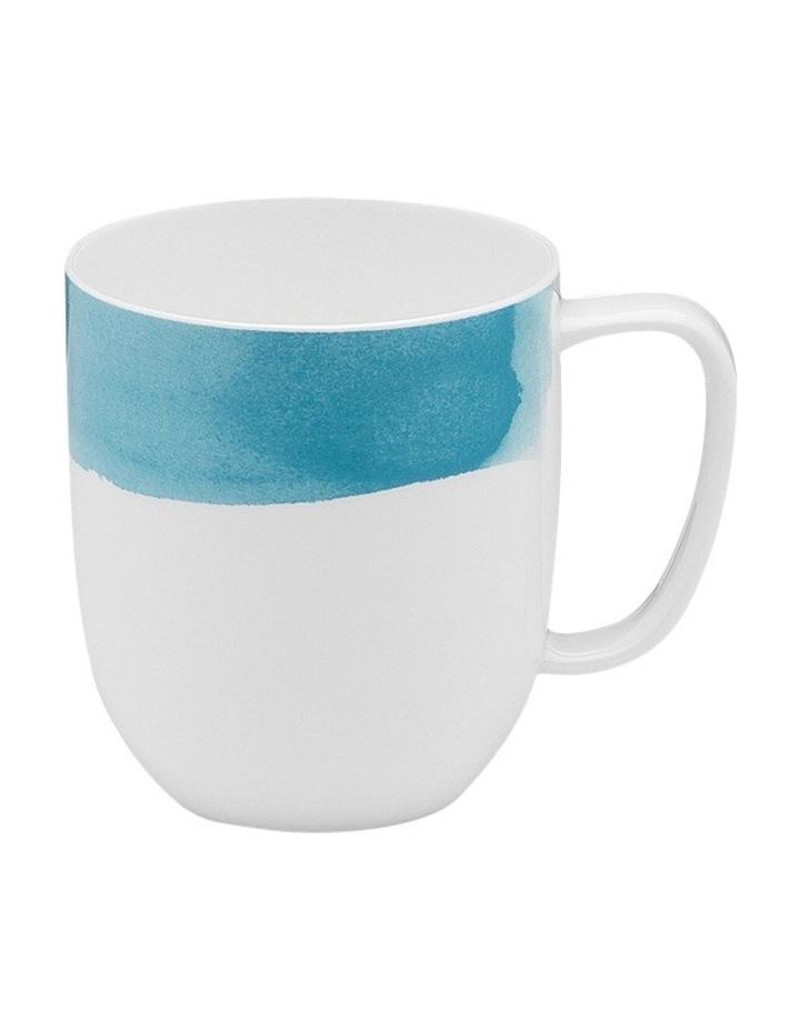 Watercolour Mug Aqua Gift Box image 1