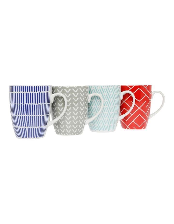 Cerito Mug, Set of 4 - Assorted image 1