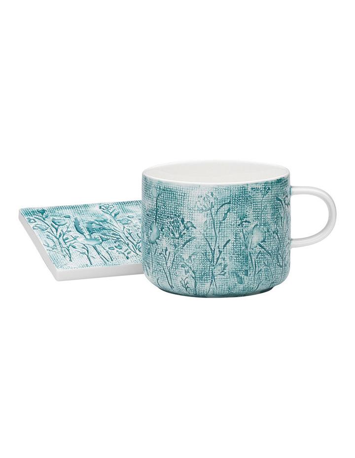 Wildflower Ink Mug & Coaster Set image 1