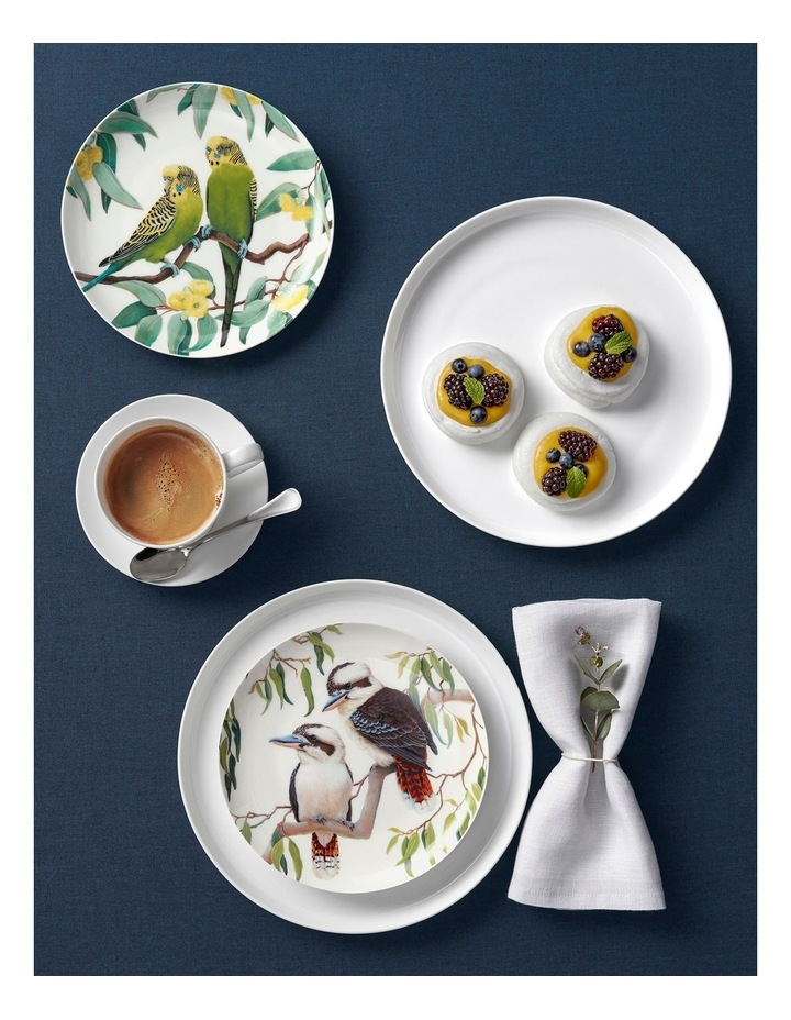 Cashmere Birdsong Plate 20cm Budgies Gift Boxed image 2