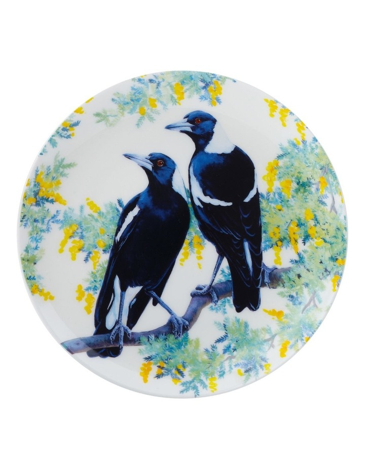 Cashmere Birdsong Plate 20cm Magpies Gift Boxed image 1