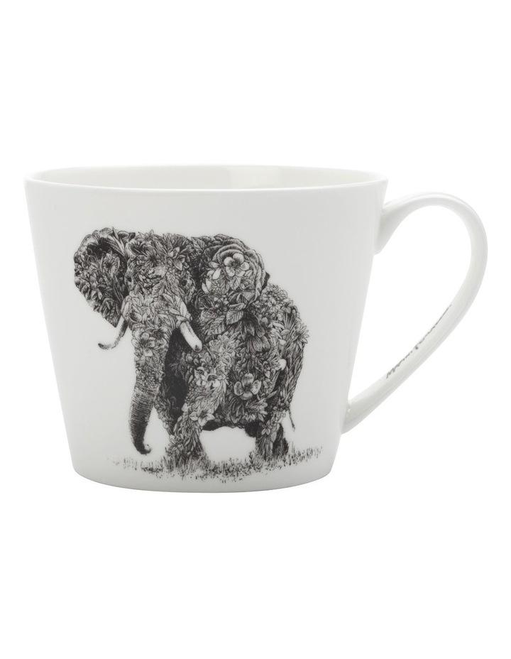 Marini Ferlazzo Mug African Elephant 450ML Sqt Gift Boxed image 1