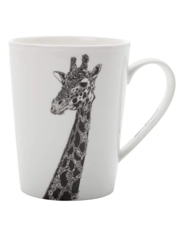 Marini Ferlazzo Mug African Giraffe 450ML Tall Gift Boxed image 1
