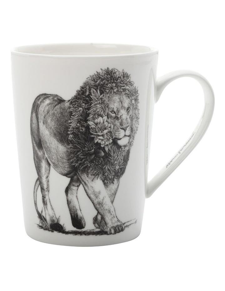 Marini Ferlazzo Mug African Lion 450ML Tall Gift Boxed image 1