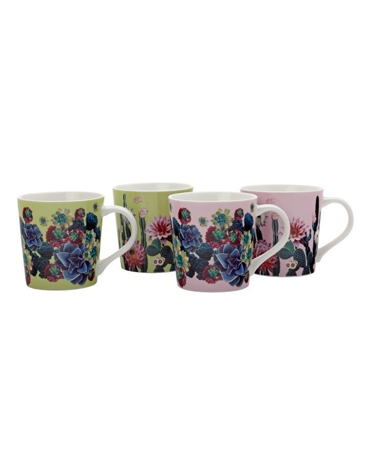 Palm Springs Mug Set Of 4 (400ML) - Gift Boxed image 1