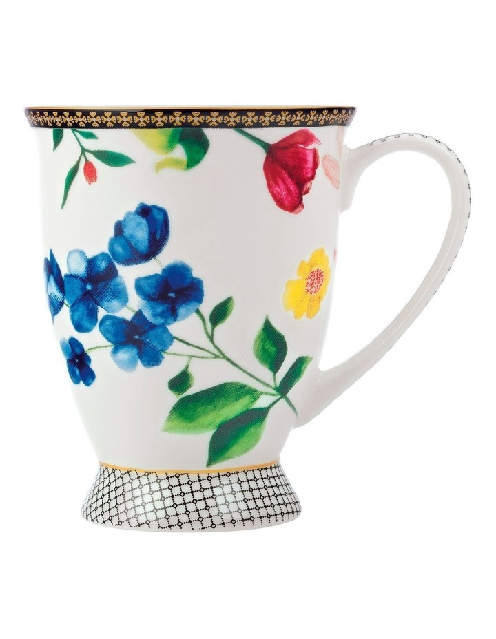 Teas & C's Contessa Footed Mug 300ML White Gift Boxed image 1