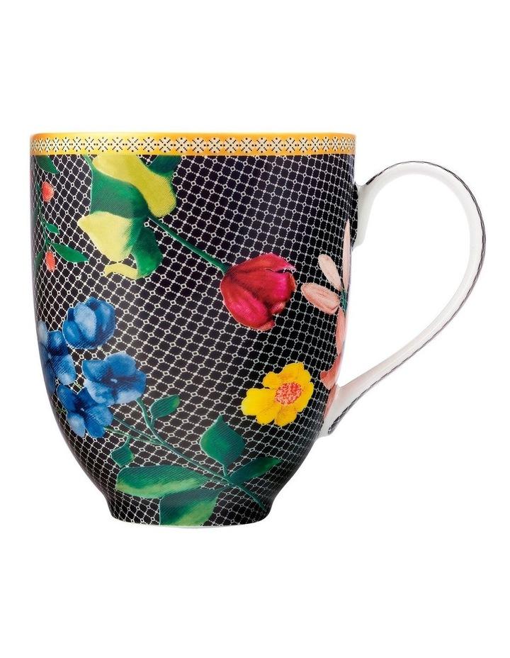 Teas & C's Contessa Coupe Mug 300ML Black Gift Boxed image 1