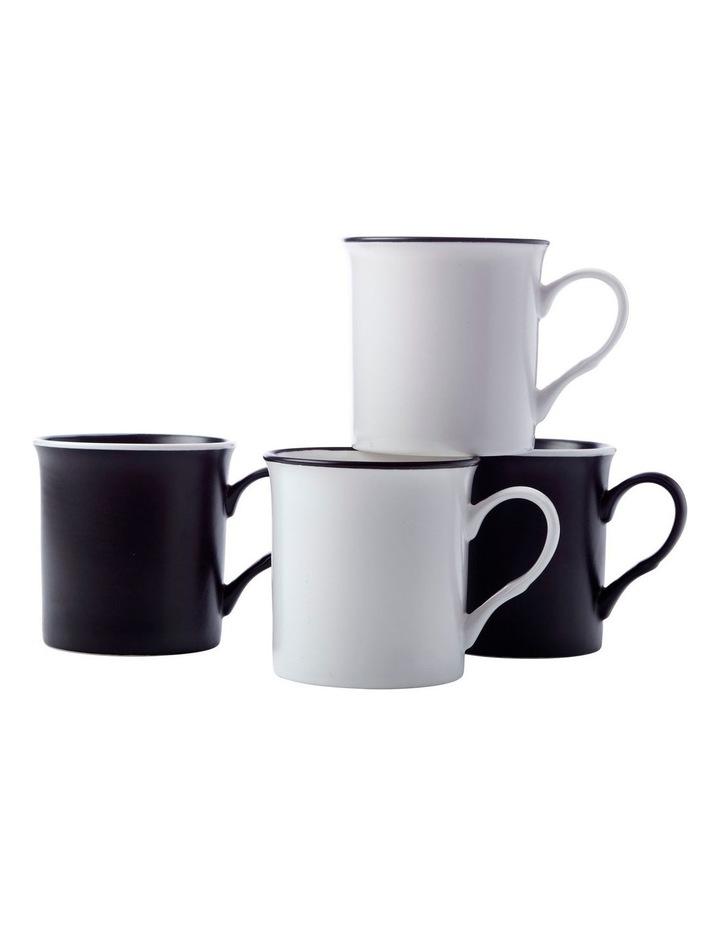 Manhattan Mug 310ML Set of 4 Gift Boxed image 1
