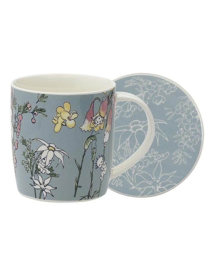 May Gibbs Flower Babies Mug & Coaster 320ml - Meadow image 1