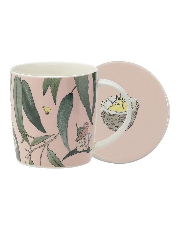 May Gibbs Gumbut Babies Mug & Coaster 320ml  Pink image 1