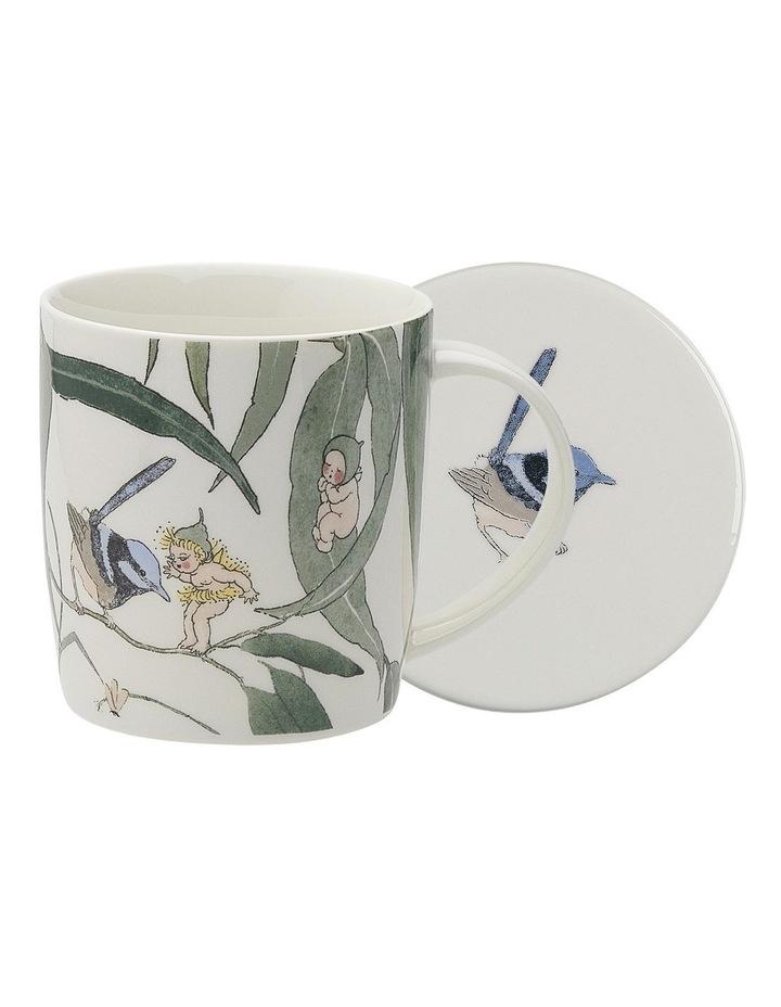 May Gibbs Gumbut Babies Mug & Coaster 320ml - White image 1