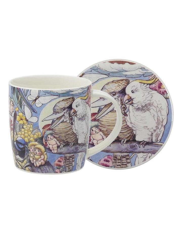 May Gibbs Bush Tales Mug & Coaster 320ml image 1