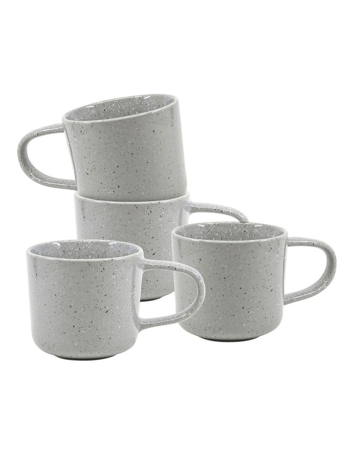 Cella Mug 350ml Set of 4 Warm Grey image 1