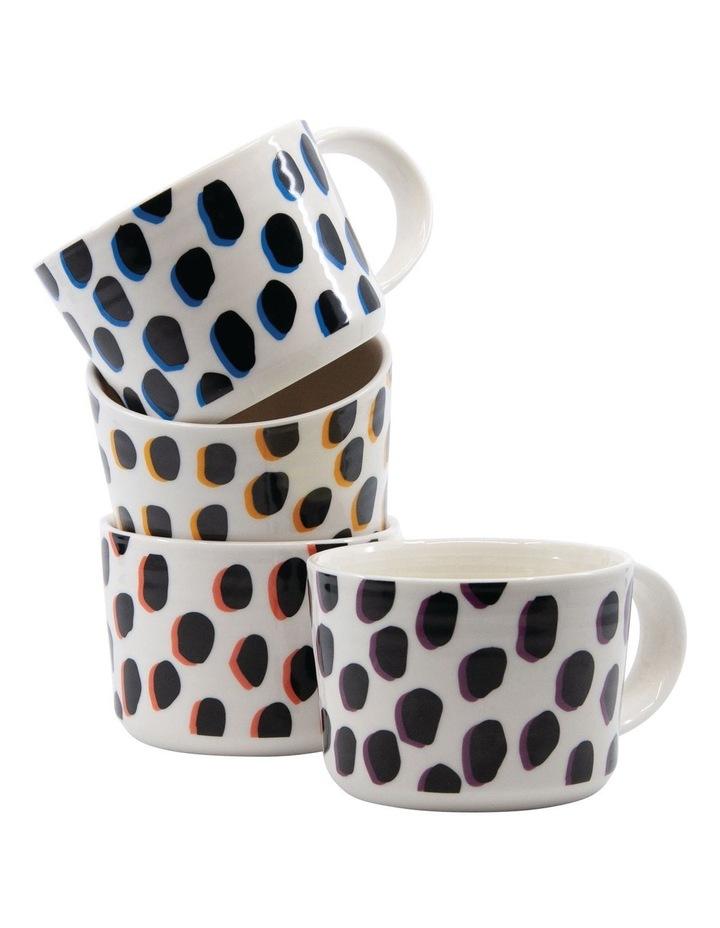 Leopard Mug Set 350ml Set of 4 image 6