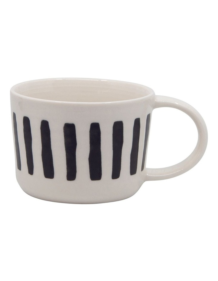 Stencil Mug Set 350ml Set of 4 image 2
