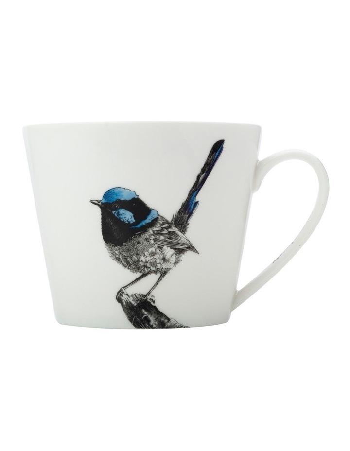 Marini Ferlazzo Birds Mug 450ML Sqt Fairy Wren Gift Boxed image 1