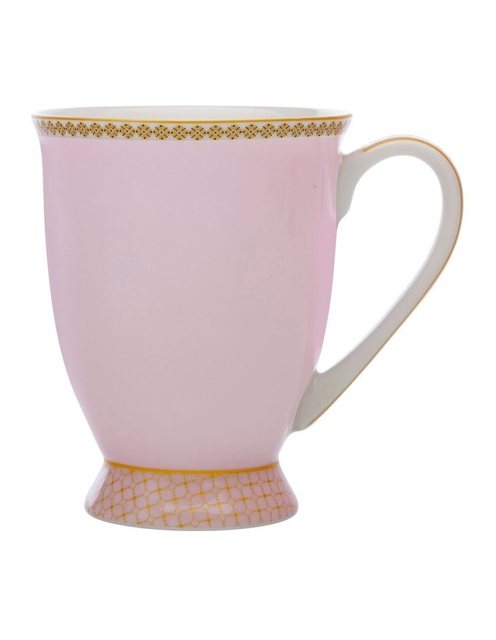 Teas & C's Classic Footed Mug 300ML Rose Gift Boxed image 1