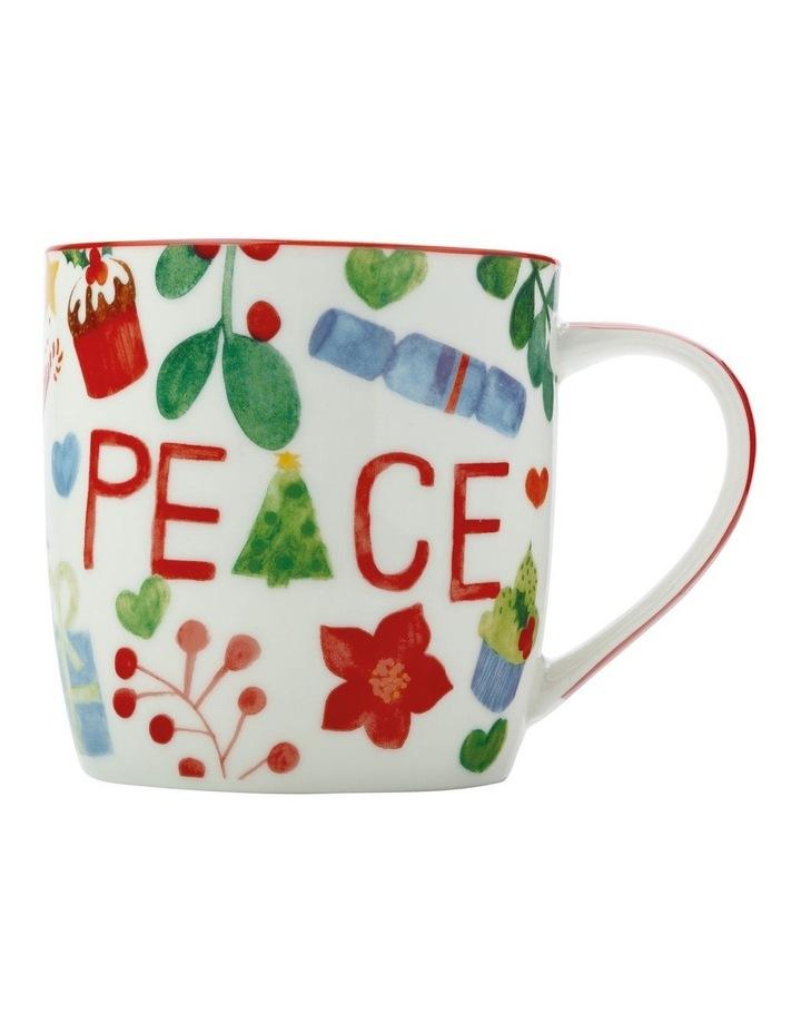 Joy Love Peace Mug 370ML Peace Gift Boxed image 1