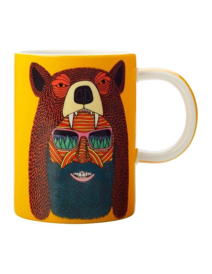 Mulga the Artist Mug 450ML Bear Man Gift Boxed image 1