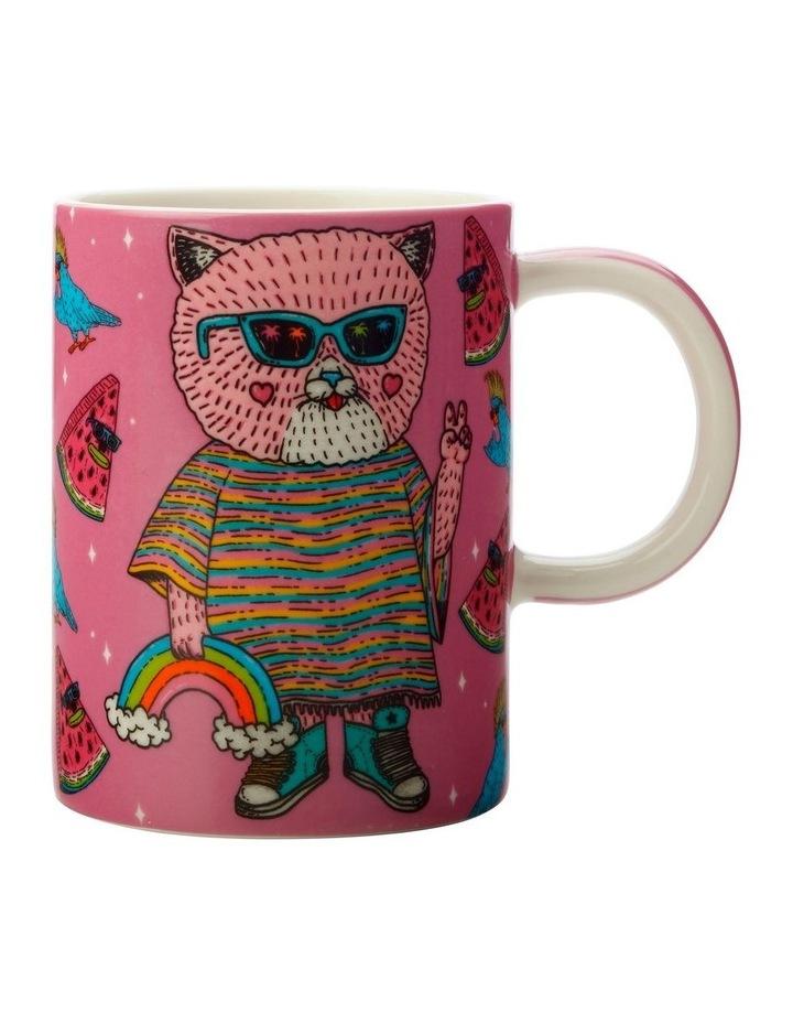 Mulga the Artist Mug 450ML Cat Gift Boxed image 1