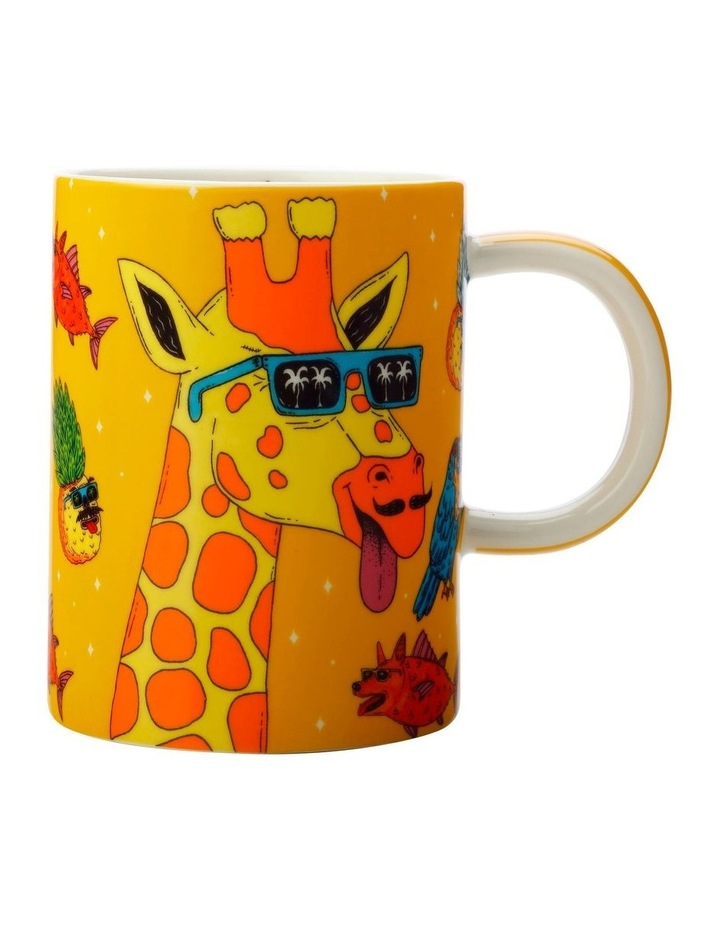 Mulga the Artist Mug 450ML Giraffe Gift Boxed image 1