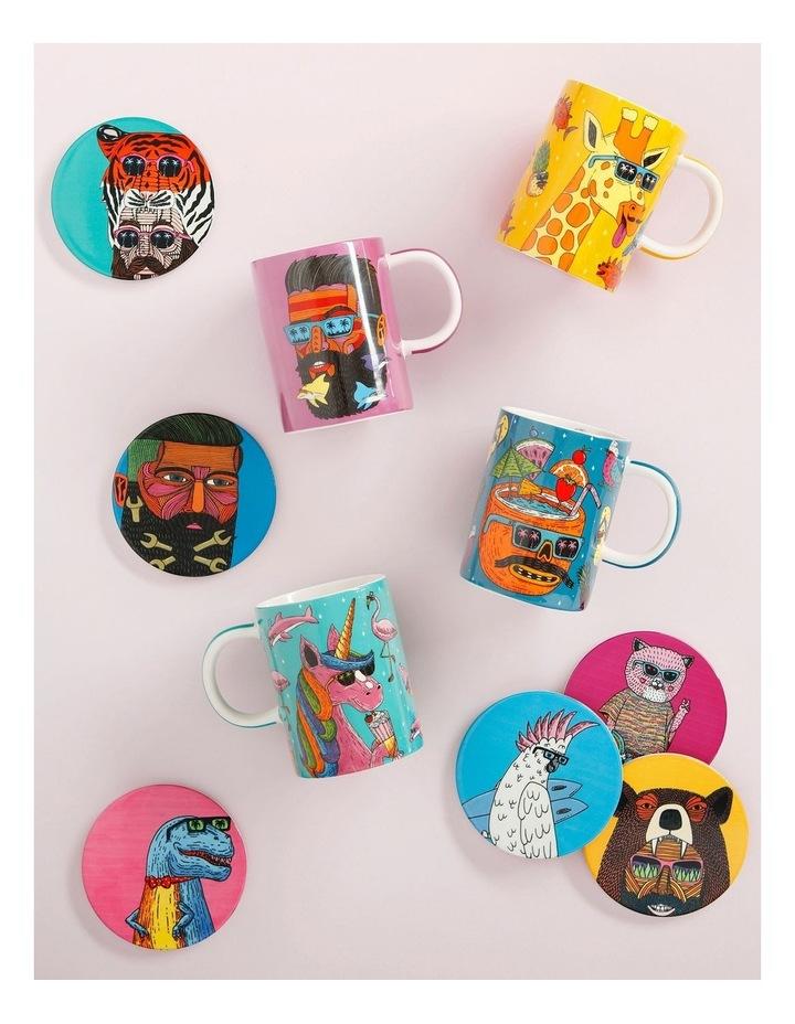 Mulga the Artist Mug 450ML Giraffe Gift Boxed image 2