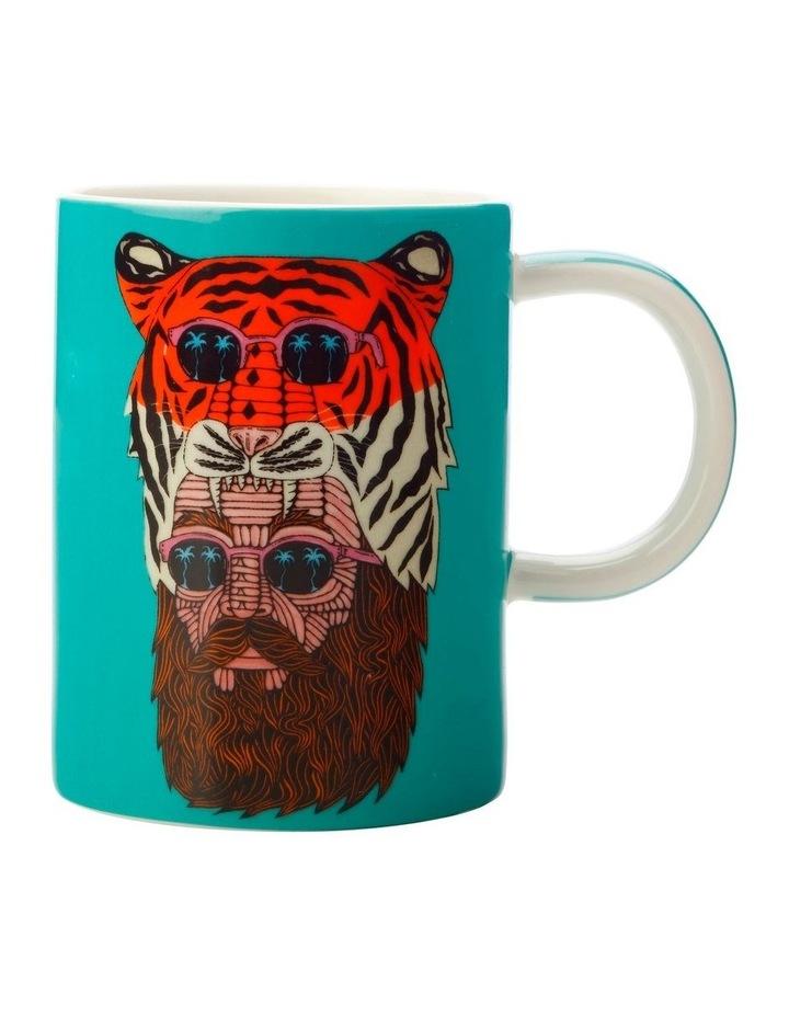 Mulga the Artist Mug 450ML Tiger Man Gift Boxed image 1