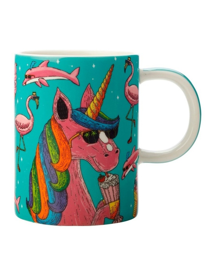 Mulga the Artist Mug 450ML Unicorn Gift Boxed image 1