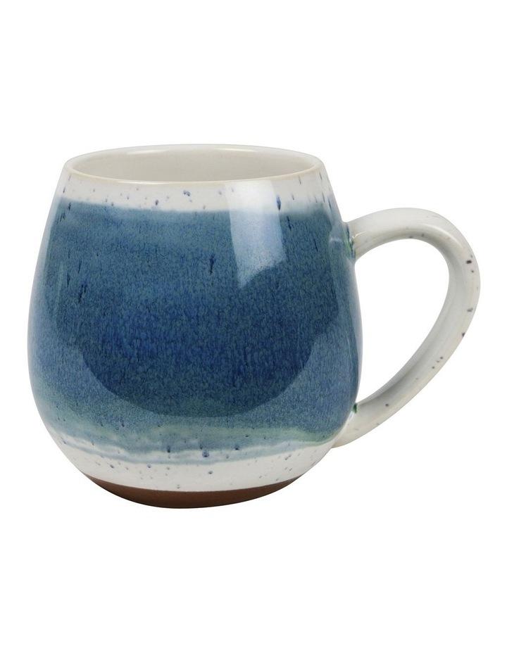 Hug Me Mugs Set of 4 Light Blue Mediterranean image 2