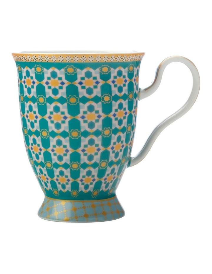Teas & C's Kasbah Footed Mug 300ML Mint Gift Boxed image 1