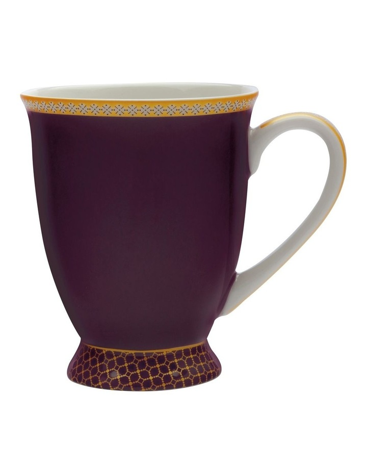 Teas & C's Classic Footed Mug 300ML Violet Gift Boxed image 1
