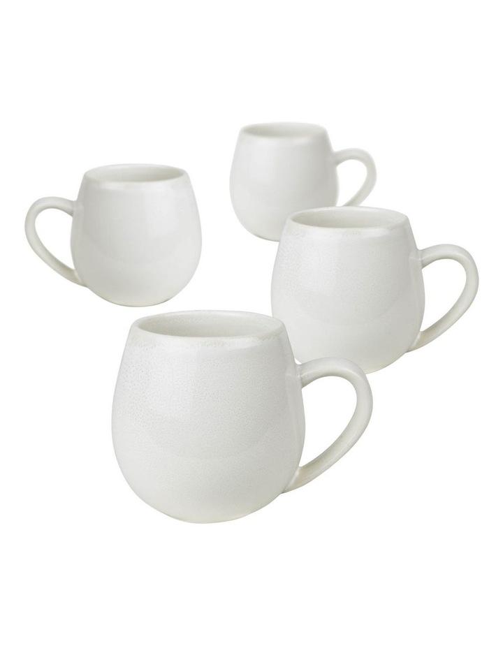 Hug Me Mugs Mug 4Pk-Snow Hug Me image 1