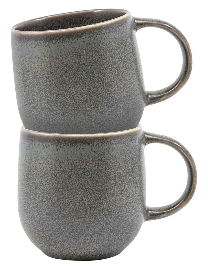 NAOKO Mug - 380ml - Shale - Set of 6 image 3