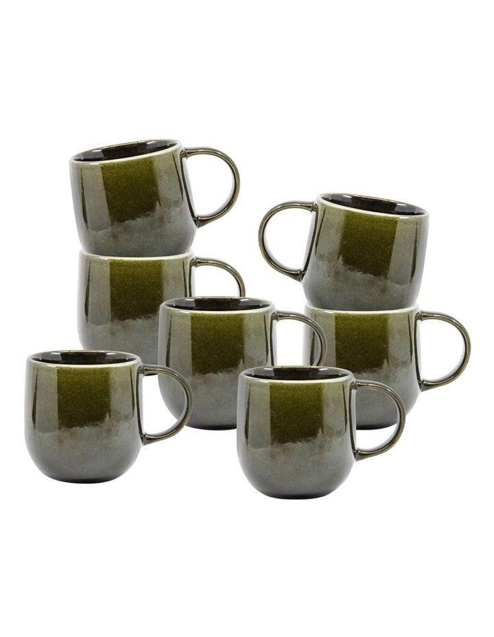 NAOKO Mug - 380ml - Olive - Set of 6 image 1