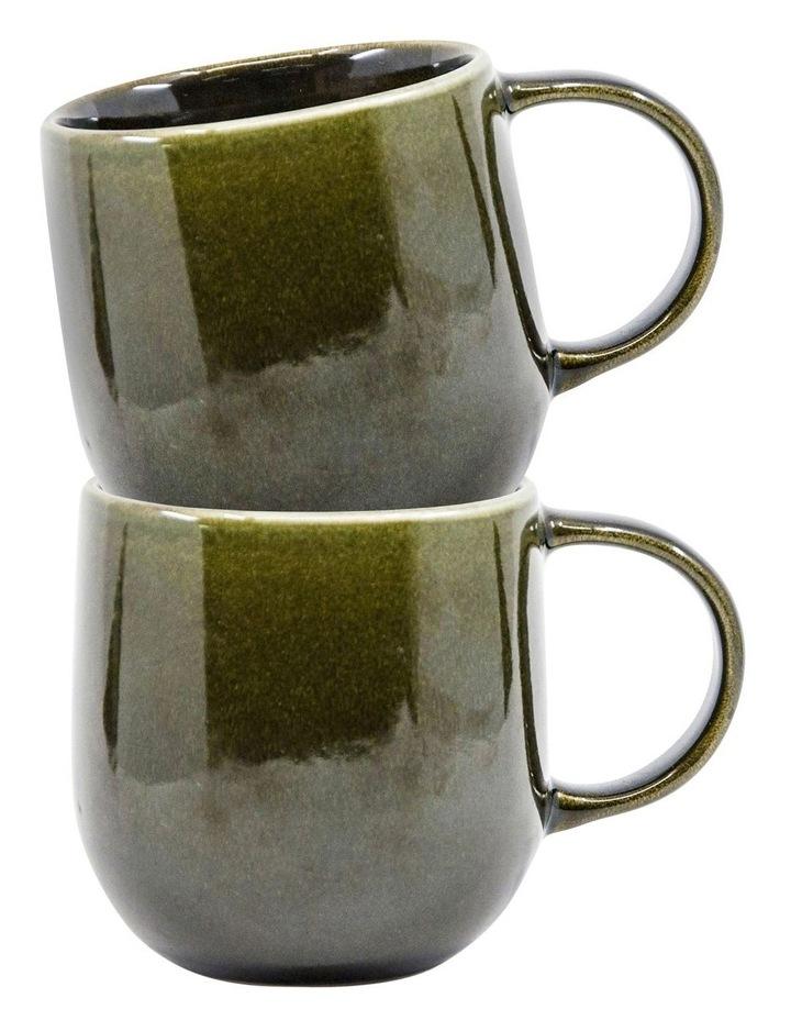 NAOKO Mug - 380ml - Olive - Set of 6 image 3