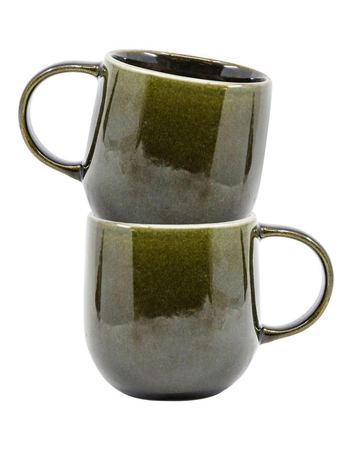 NAOKO Mug - 380ml - Olive - Set of 6 image 4